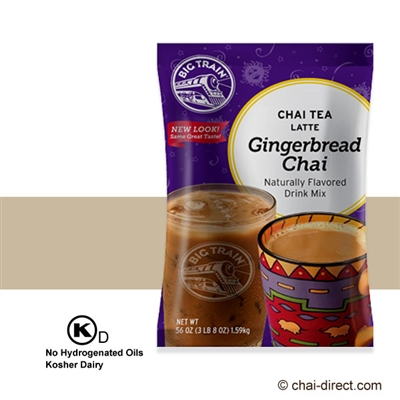 Photo of Gingerbread Chai Flavored Latte Mix by Big Train