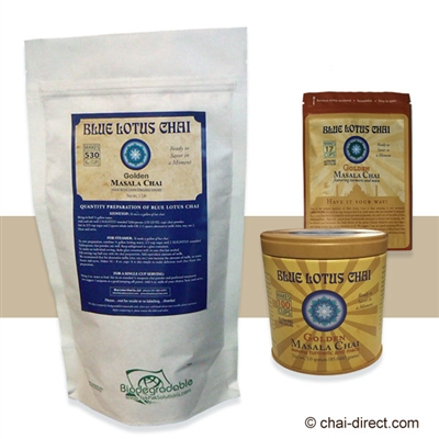 Photo of Turmeric and Maca Flavored Traditional Masala Chai by Blue Lotus