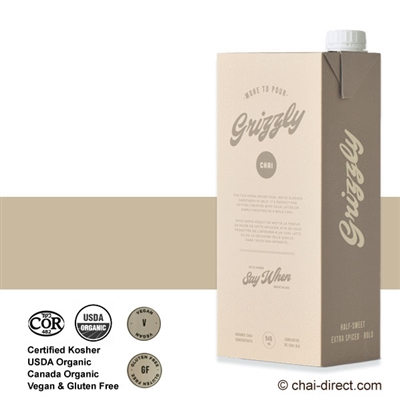 Photo of Grizzly Flavor Super Concentrate Cartons by The Chai Company