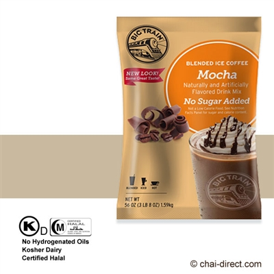 Photo of No Sugar Added Mocha Coffee Flavored Ice Drink Mix by Big Train