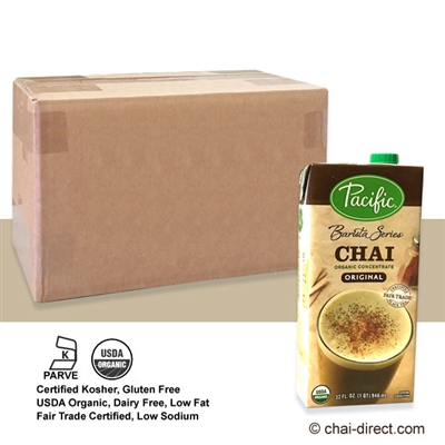 Photo of Original Chai Flavor Concentrate Carton by Pacific