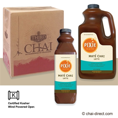 Photo of Yerba Mate' Chai Liquid Concentrate by Pixie Chai