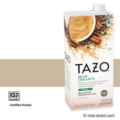 Photo of Decaf Chai Liquid Concentrate by Tazo