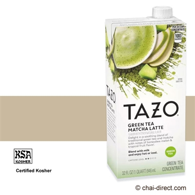 Photo of Green Tea Matcha Latte Flavor Liquid Concentrate by Tazo