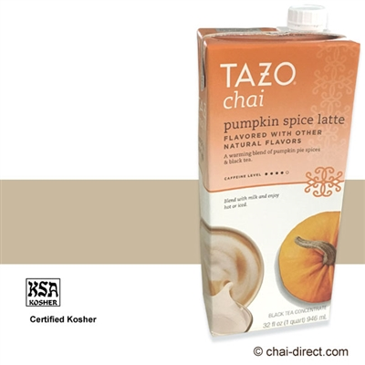 Photo of Pumpkin Spice Flavor Liquid Concentrate by Tazo