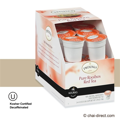 Photo of Rooibos Decaf Tea K Cups by Twinings of London