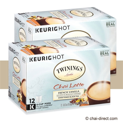 Photo of Vanilla Chai Latte Tea K Cups by Twinings of London