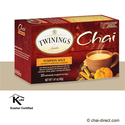 Photo of Pumpkin Spice Chai Loose Leaf Tea Bags by Twinings of London
