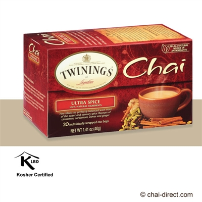 Photo of Ultra Spice Chai Loose Leaf Tea Bags by Twinings of London