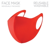 Red Polyester Face Mask, Gameday!