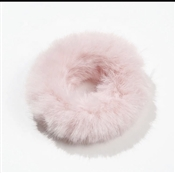 Pink Fur Scrunchie, Best  Seller!