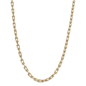 "Matte Gold Chain 16""-18"" Necklace"