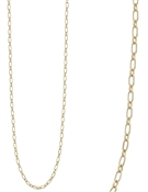"Gold Link Chain 32"" Necklace"