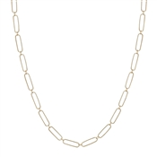 "Gold 16""-18"" Thin Chain Necklace, Great for Layering!"