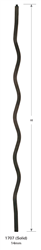 1707: Solid Squiggle Baluster