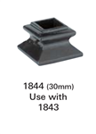 Crown Heritage Iron Shoes & Accessories - 1844: 30mm Newel Shoe | Stair Part Pros