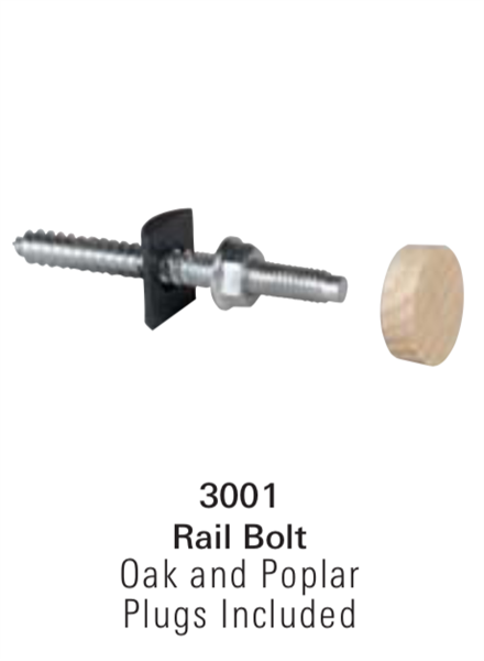Stair Hardware, Mounting Kits, & Accessories - 3001: Rail Bolt  | Stair Part Pros