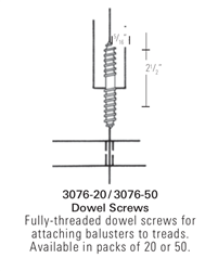 3076: Dowel Screws