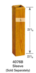 Wooden Stair Parts - 4076B Series Box Newel Post Sleeve | Stair Part Pros
