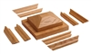 4095-CT Cap & Trim Kit - Crown Heritage Box Newels for Stairs | Stair Part Pros