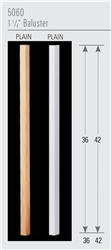 Wood Baluster & Newel Stair Parts Series 5060: Square Baluster | Stair Part Pros