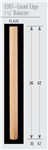 Wood Baluster & Newel Parts 5361: Eased Edge Square Baluster | Stair Part Pros