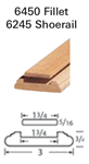 Crown Heritage Shoerail & Fillet Stair Parts 6245: Shoerail | Stair Part Pros
