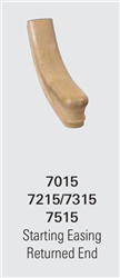 Crown Heritage Stair Parts - 7015 Starting Easing Handrail Fittings | Stair Part Pros