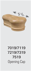 7319 Opening Cap - Handrail Staircase Fittings | Stair Part Pros