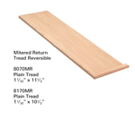 Crown Heritage Stair Parts Stair Parts 8070MR: Mitered Tread | Stair Part Pros
