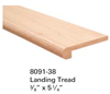 Replacement Parts for Staircase Treads 809138: Landing Tread | Stair Part Pros