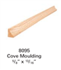 Stair Moldings, Brackets, & Rosettes 8095: Staircase Cove Molding  | Stair Part Pros