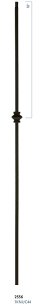 "C2556: 44"" Single Knuckle Baluster"