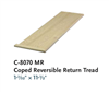 Replacement for Stair Treads Series C8070MR: Plain Tread | Stair Part Pros