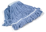 Monsoon Bactiguard 400gr Loop and Web Kentucky Mop, Blue, (10 pack)
