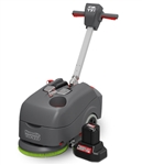 Numatic TTB1840NX Compact Scrubber Dryer with battery