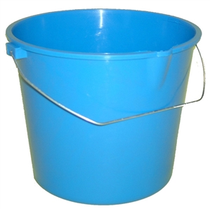 Argee Heavy Duty Plastic Bucket with Handle 6 Quart