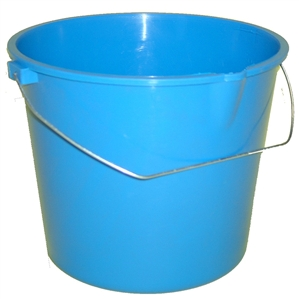 Argee Heavy Duty Plastic Bucket with Handle 9 Quart
