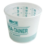 Argee Calibrated Plastic Mixing Pail 2.5 Qyart