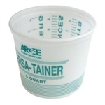 Argee Calibrated Plastic Mixing Pail 5 Quart