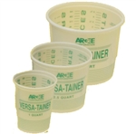 Argee Calibrated Plastic Mixing Pail 3 in 1 Pack