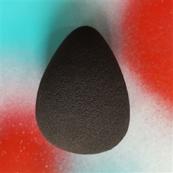 Black Teardrop Blending Sponge