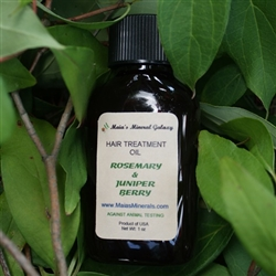 Hair Treatment Oil - Rosemary and Juniper Berry (Travel Size)