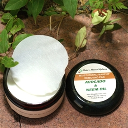 Moisturizing Makeup Remover Pads - Avocado & Neem Oils