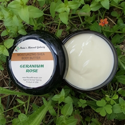 Moisturizing Shea Body Butter - Geranium Rose