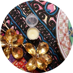Solid Perfume Sample Fresh Incense