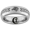6mm Dome Tungsten Legend of Zelda Skyward Sword Designed Ring.