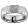 6mm Dome Tungsten Carbide Celtic Knot Design Ring.