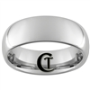 8mm Tungsten Carbide Dome Ring