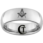 8mm Dome Tungsten Carbide Masonic Laser Design